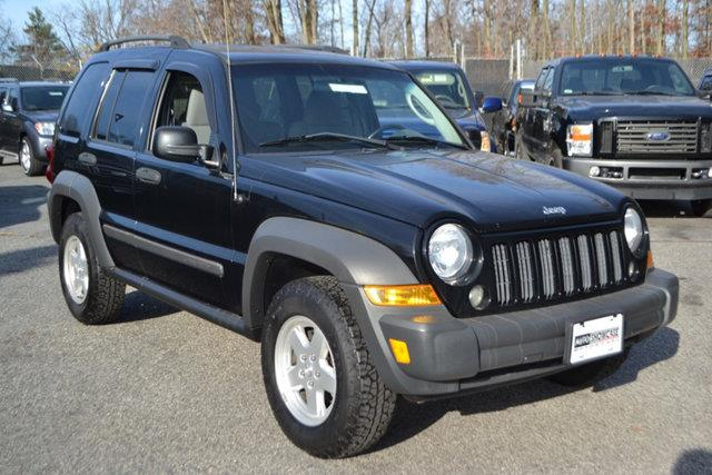 2007 JEEP LIBERTY SPORT 4DR SUV 4WD black this 2007 jeep liberty 4dr 4wd 4dr sport features a 37