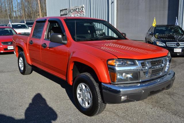 2008 ISUZU I-SERIES I-370 LS 4DR CREW CAB 4WD SB orange this 2008 isuzu i-370