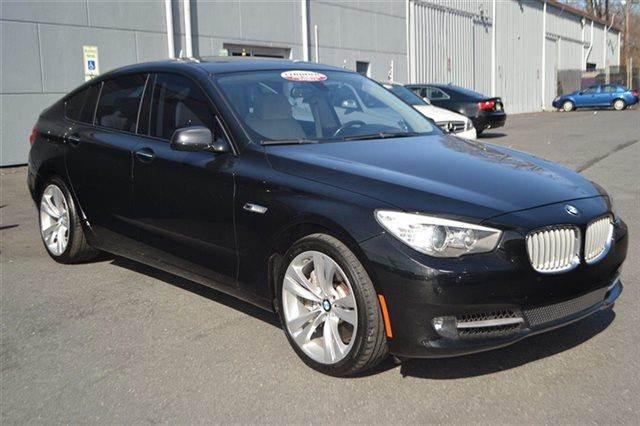 2010 BMW 5 SERIES 550I GRAN TURISMO 4DR HATCHBACK black sapphire metallic warranty included a fa