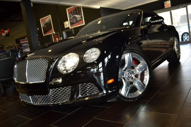 2012 BENTLEY CONTINENTAL GTC BASE AWD 2DR CONVERTIBLE onyx metallic this 2012 bentley continental