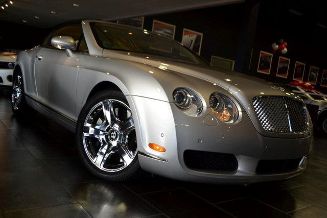 2008 BENTLEY CONTINENTAL GTC BASE AWD 2DR CONVERTIBLE silver this 2008 bentley continental gt 2dr