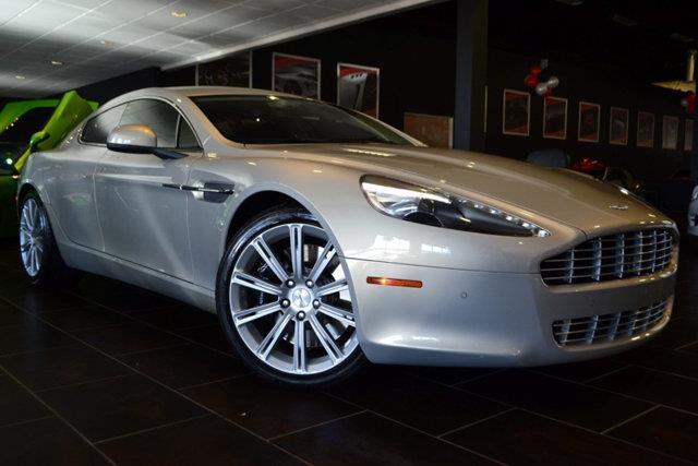 2010 ASTON MARTIN RAPIDE BASE 4DR SEDAN silver blonde this 2010 aston martin rapide 4dr 4dr sedan