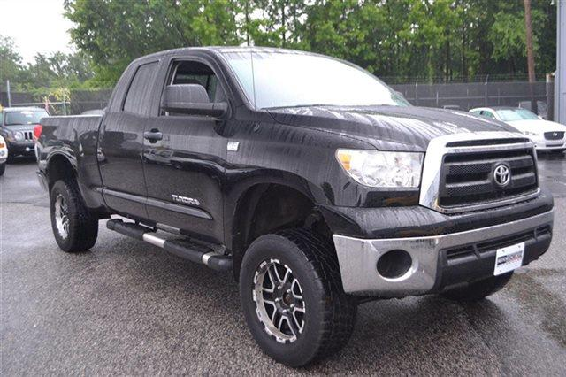 2010 TOYOTA TUNDRA GRADE 4X4 4DR DOUBLE CAB PICKUP black new arrival carfax 1-owner this 2010