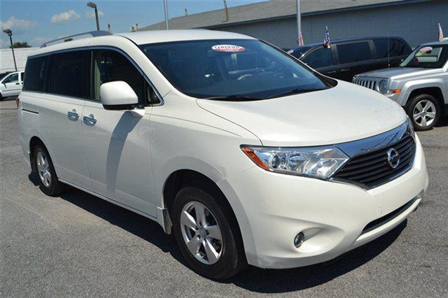 2012 NISSAN QUEST 4DR LE white pearl warranty included a limited warranty is included with this
