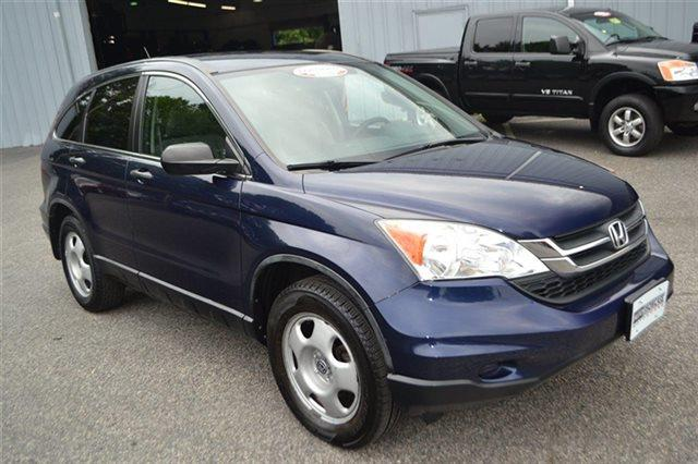 2010 HONDA CR-V LX AWD 4DR SUV royal blue pearl low miles this 2010 honda cr-v lx will sell f