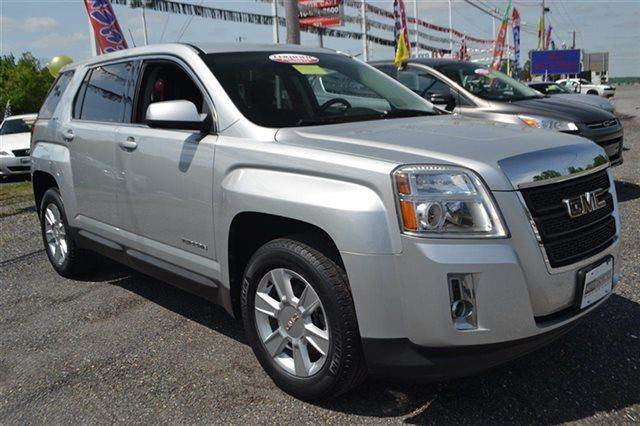 2010 GMC TERRAIN SLE-1 4DR SUV quicksilver metallic new arrival priced below market this 2010