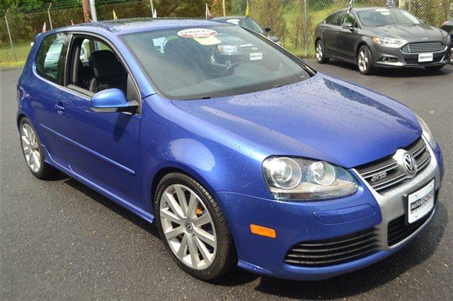 2008 VOLKSWAGEN R32 BASE AWD 4DR HATCHBACK deep blue metallic priced below market thisr32 will