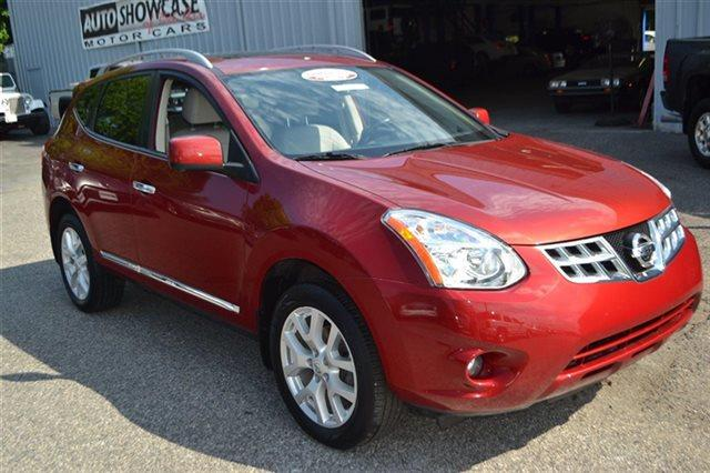 2012 NISSAN ROGUE AWD 4DR SL cayenne red this 2012 nissan rogue 4dr awd 4dr sl features a 25l 4