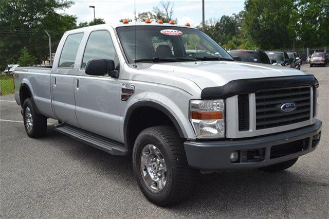 2008 FORD F-250 SUPER DUTY - silver metallic this 2008 ford super duty f-250