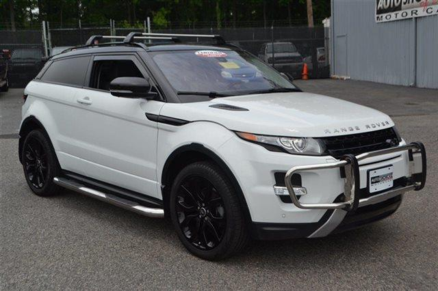 2013 LAND ROVER RANGE ROVER EVOQUE COUPE DYNAMIC AWD 2DR SUV fuji white 4wd navigation back-