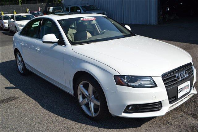 2009 AUDI A4 20T QUATTRO AWD PRESTIGE 4DR SE ibis white new arrival carfax one owner this 2