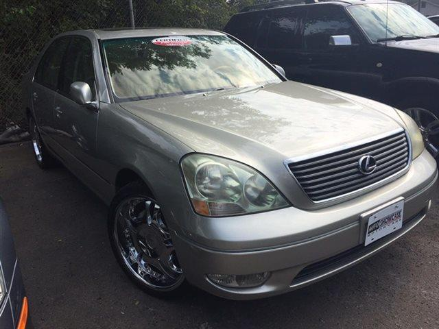 2001 LEXUS LS 430 BASE 4DR SEDAN mystic gold metallic new arrival keyless start automatic