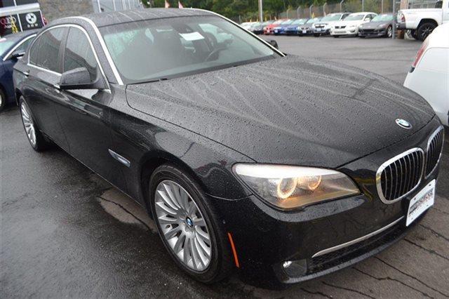 2009 BMW 7 SERIES 750LI 4DR SEDAN black sapphire metallic new arrival value priced below marke