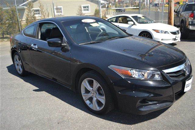 2012 HONDA ACCORD 2DR V6 AUTOMATIC EX-L COUPE crystal black pearl sunroofmoonroof keyless sta