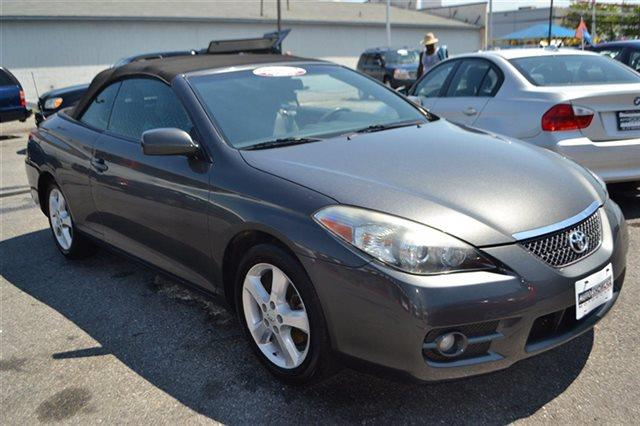 2008 TOYOTA CAMRY SOLARA 2DR CONVERTIBLE V6 AUTOMATIC SLE magnetic gray metallic warranty a limit