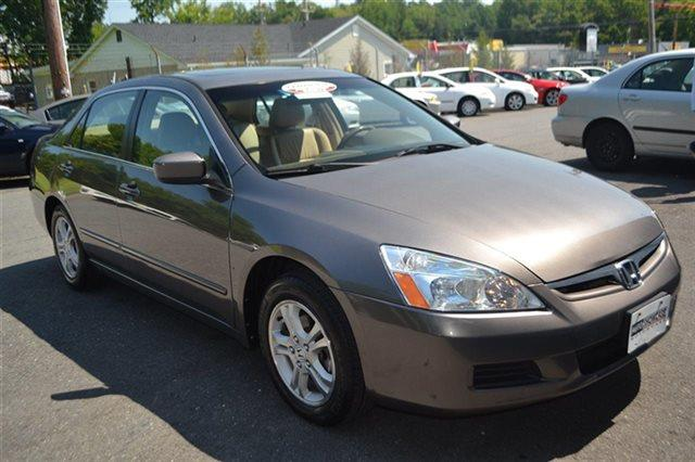 2007 HONDA ACCORD 4DR I4 AUTOMATIC EX carbon bronze pearl new arrival carfax 1-owner low mil