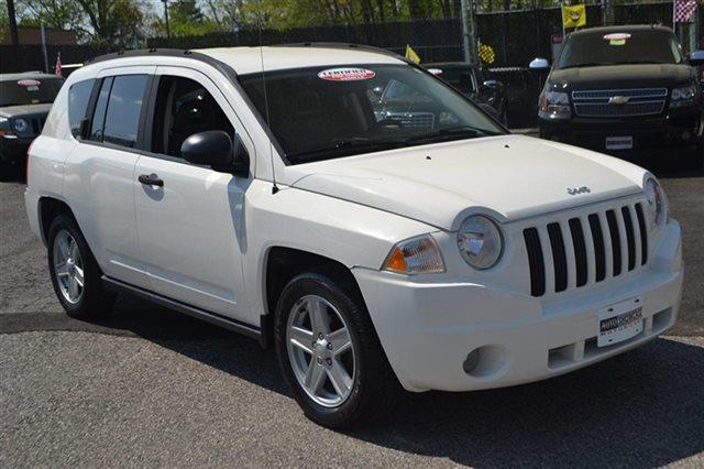 2007 JEEP COMPASS SPORT 4X4 4DR SUV stone white low miles this 2007 jeep compass sport will sel