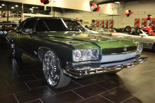 1973 BUICK CENTURION GREEN green this 1973 buick centurion green features a v8 8cyl natural gas e