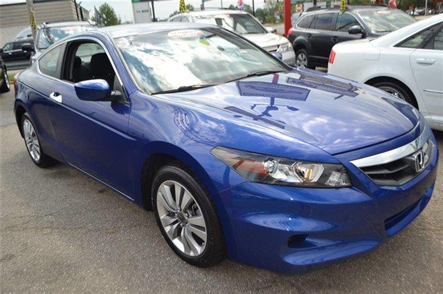 2011 HONDA ACCORD LX-S 2DR COUPE 5A belize blue pearl low miles this 2011 honda accord cpe lx-