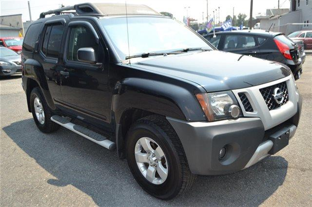 2009 NISSAN XTERRA OFF-ROAD 4WD AWD SUV super black warranty a limited warranty is included with