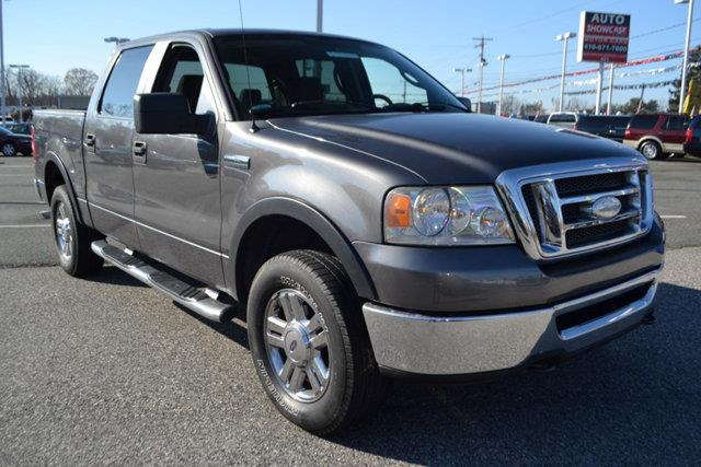 2007 FORD F-150 XLT 4DR SUPERCREW 4WD STYLESIDE grey this 2007 ford f-150 xlt features a 46l 8 c