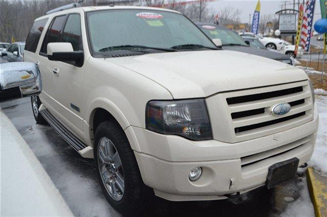 2007 FORD EXPEDITION EL LIMITED 4DR SUV 4X4 white priced below market thisexpedition el will se