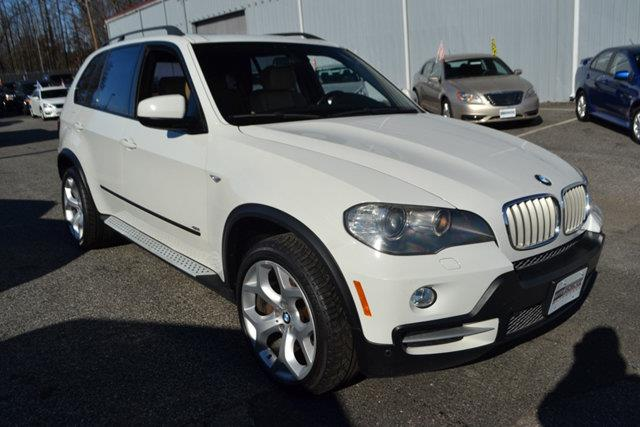 2008 BMW X5 48I AWD 4DR SUV white this 2008 bmw x5 4dr 48i features a 48l