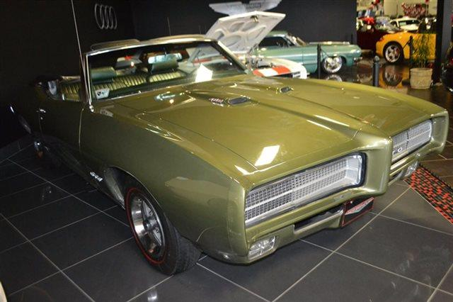 1969 PONTIAC GTO - CONVERTIBLE green warranty a limited warranty is included with this vehicle c