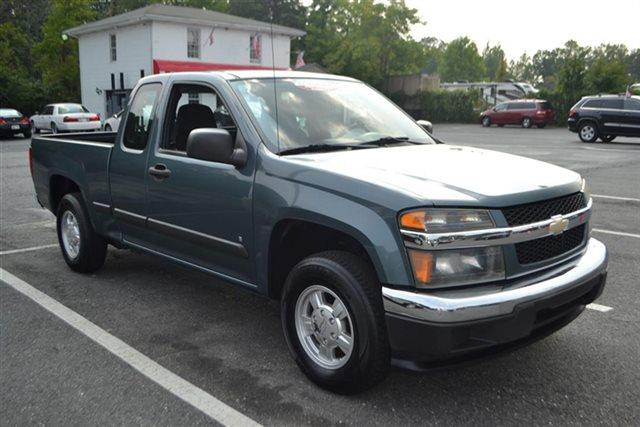 2007 CHEVROLET COLORADO 2WD EXT CAB 1259 LT W1LT TRUCK gray low miles this 2007 chevrolet col