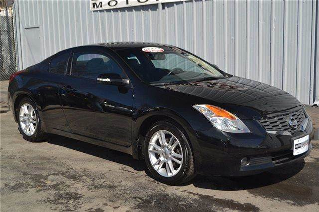 2008 NISSAN ALTIMA 35 SE COUPE black value priced below market sunroofmo