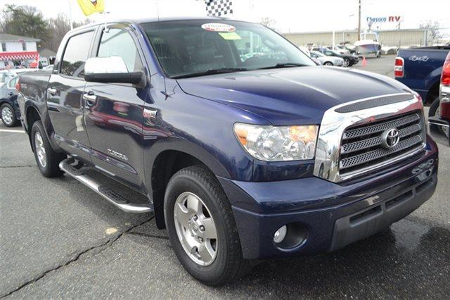 2007 TOYOTA TUNDRA LIMITED 4DR CREWMAX CAB SB 57L blue streak value priced below market heat