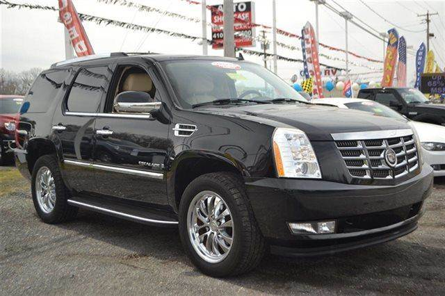 2007 CADILLAC ESCALADE BASE 4DR SUV black raven priced below market thisescalade will sell fast
