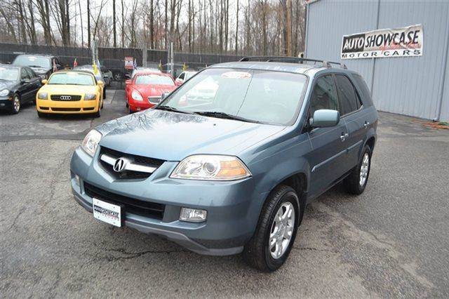 2006 ACURA MDX TOURING WNAVI AWD 4DR SUV WNAV blue carfax 1-owner low miles this 2006 acura