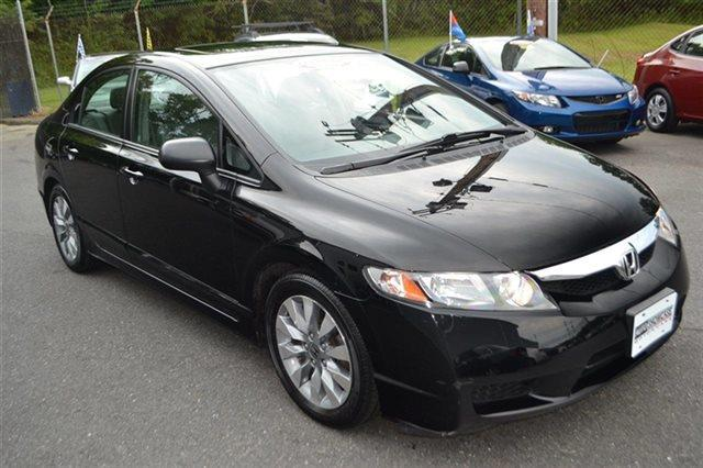 2010 HONDA CIVIC 4DR AUTOMATIC EX-L crystal black pearl low miles this 2010 honda civic sdn 4d