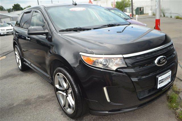 2011 FORD EDGE SPORT AWD 4DR SUV black value priced below market bluetooth backup camera p