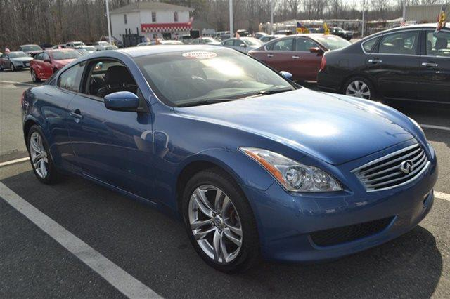 2009 INFINITI G37 COUPE X AWD 2DR COUPE blue priced below market thisg37 coupe will sell fast