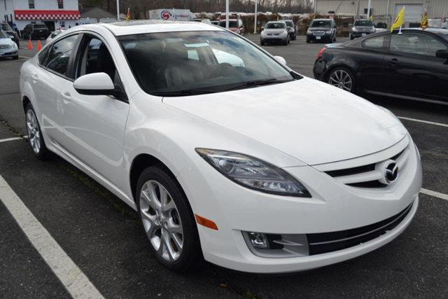 2010 MAZDA MAZDA6 I TOURING 4DR SEDAN 6M white this 2010 mazda mazda6 4dr i features a 25l 4 cyl