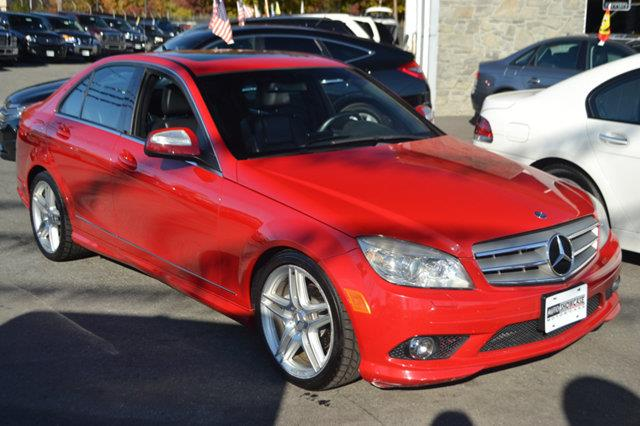 2008 MERCEDES-BENZ C-CLASS C300 4DR SEDAN 30L SPORT RWD red this 2008 merced