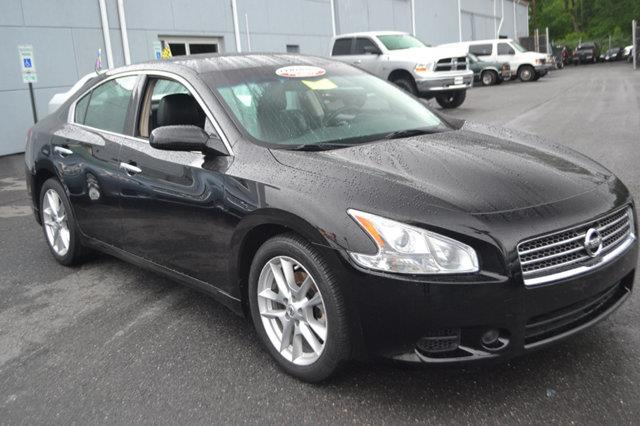 2011 NISSAN MAXIMA 4DR SEDAN V6 CVT 35 SV super black this 2011 nissan maxima 4dr 4dr sedan v6 c