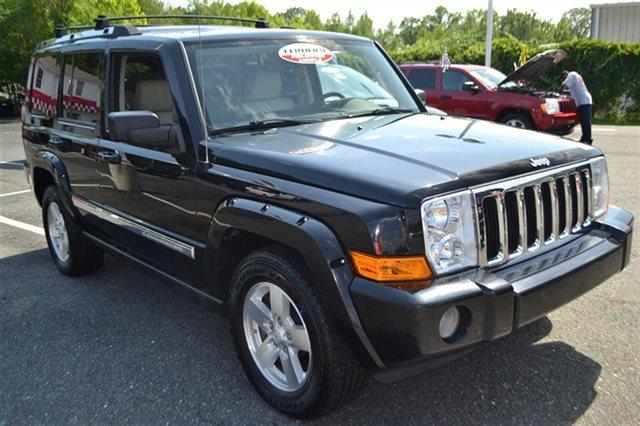 2006 JEEP COMMANDER LIMITED 4DR SUV 4WD black new arrival 4wd this 2006 jeep commander limited