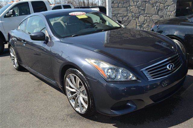 2008 INFINITI G37 SPORT 2DR COUPE grey priced below market thisg37 coupe will sell fast low