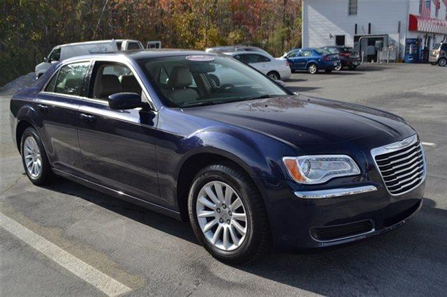 2014 CHRYSLER 300 BASE 4DR SEDAN blue priced below market this300 will sell fast this 2014 c