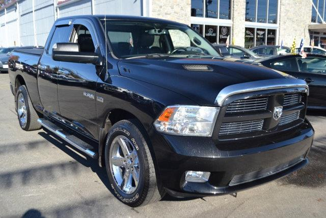 2010 DODGE RAM PICKUP 1500 black this 2010 dodge ram 1500 features a 57l 8 cylinder 8cyl gasolin