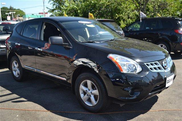 2012 NISSAN ROGUE AWD 4DR S SUV super black new arrival priced below market this 2012 nissan