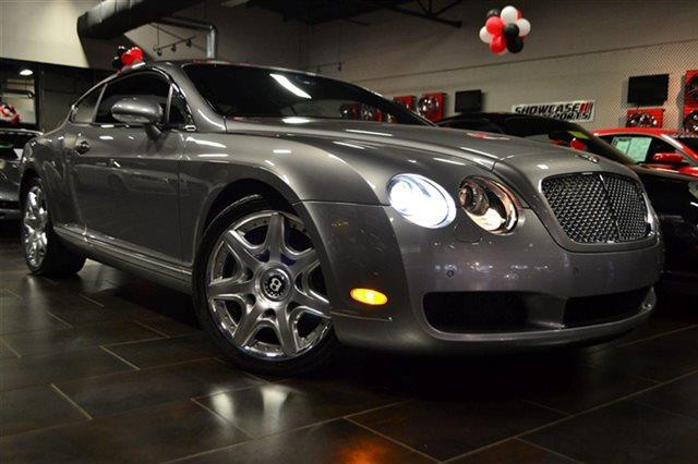 2005 BENTLEY CONTINENTAL GT BASE 2DR TURBO COUPE moonbeam new arrival low miles this 2005 be