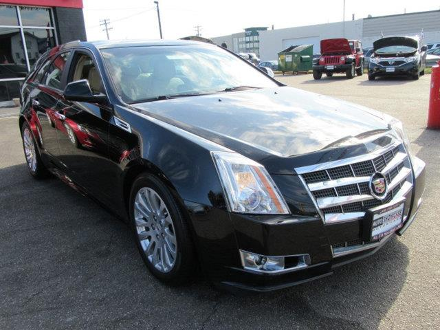 2010 CADILLAC CTS 36L PREMIUM AWD 4DR WAGON black this 2010 cadillac cts wagon 4dr 5dr wagon 36