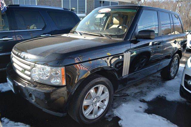 2008 LAND ROVER RANGE ROVER HSE 4X4 4DR SUV black priced below market thisrange rover will sell
