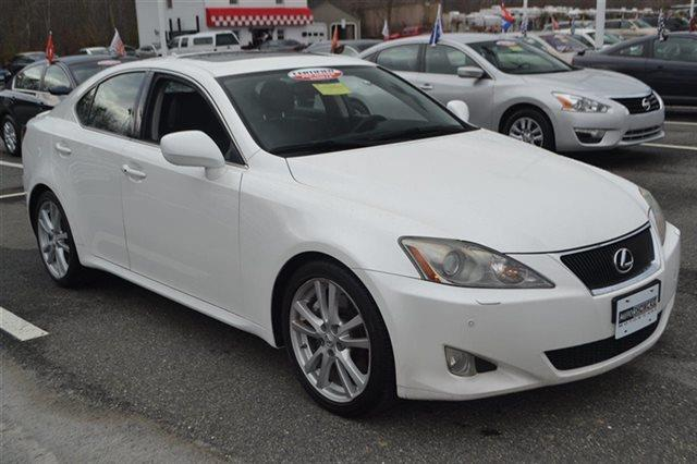 2007 LEXUS IS 350 BASE 4DR SEDAN starfire pearl this 2007 lexus is 350 4dr sport sedan automatic