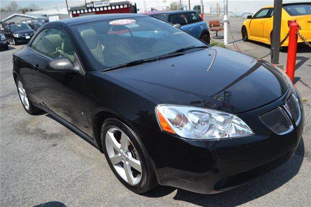 2007 PONTIAC G6 GT 2DR CONVERTIBLE black low miles this 2007 pontiac g6 gt will sell fast -allo