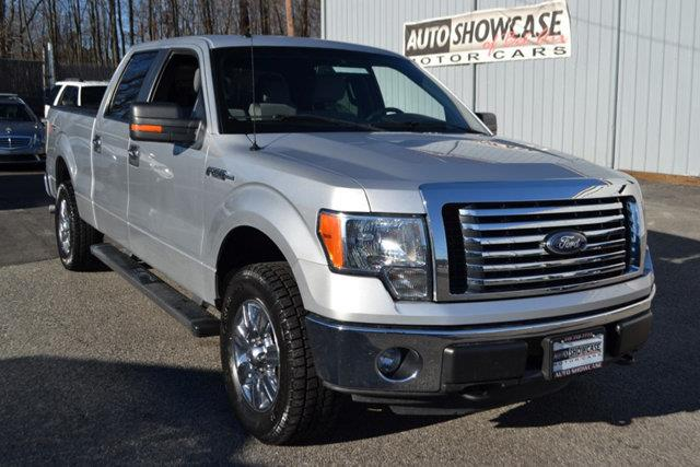 2011 FORD F-150 - silver this 2011 ford f-150 - features a 50l 8 cylinder 8cyl flex fuel engine